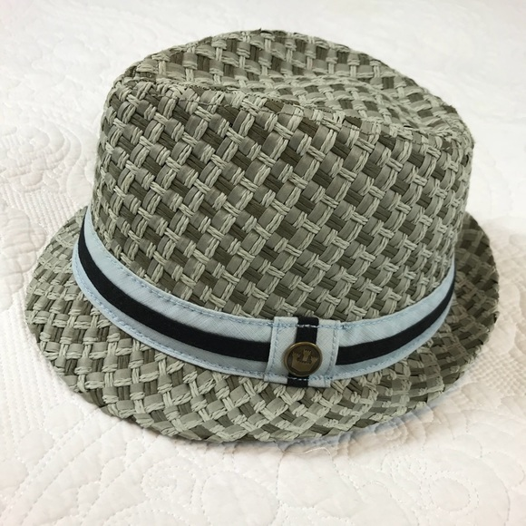 Goorin Bros Accessories - Like New Goorin Bros Light Blue and Navy Fedora
